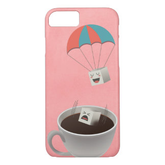Cautious Sugar Cube iPhone 7 Case