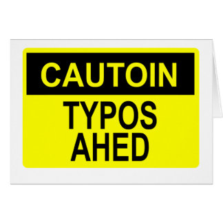 Cautoin: Typos Ahed Card