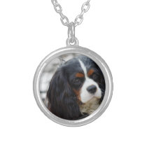 cav 2 silver plated necklace