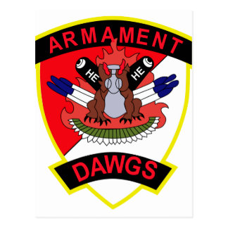 cav d 3 6 air cav armament dawgs postcard