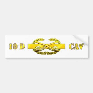 CAV SCT 19D CAR BUMPER STICKER