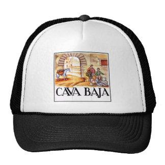 Cava Baja, Madrid Street Sign Trucker Hat