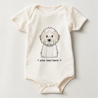 Cavachon Cartoon Personalized Baby Bodysuit