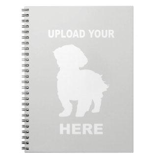 Cavachon Notebook, Upload Your Dog Photo Notebook