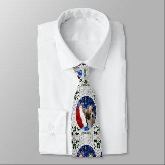 Cavachon Tie, Christmas Tie