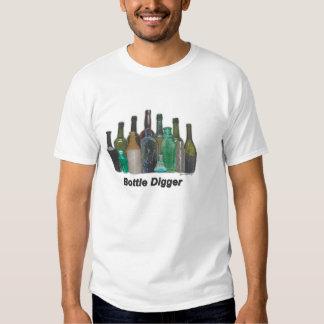Cavador de la botella camisas