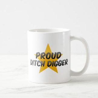 Cavador de zanja orgulloso taza