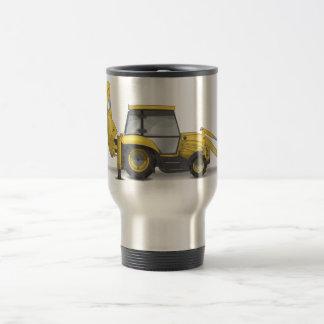 Cavador del excavador taza de café