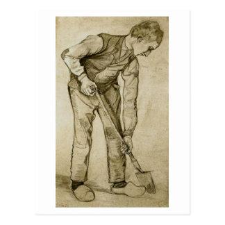 Cavador, Vincent van Gogh Tarjetas Postales