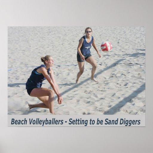 Cavadores de la arena posters
