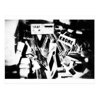 Cavadores del cajón tarjetas postales