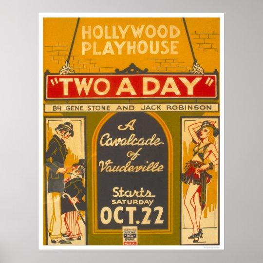 CavalcadeVaudeville1938 WPA Poster