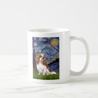 Cavalier 2 (Bl) - Starry Night Coffee Mug