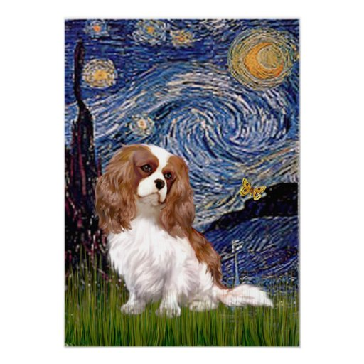 Cavalier 2 (Bl) - Starry Night Posters