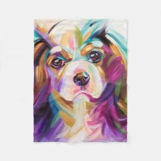 Cavalier Art Fleece blanket