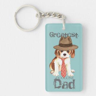 Cavalier Dad Keychain