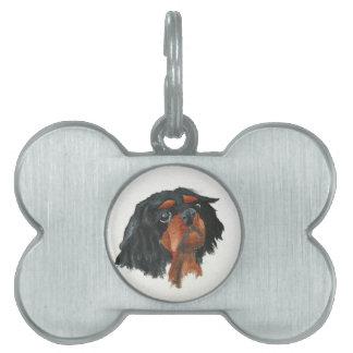 Cavalier Dog Tag Pet Name Tag