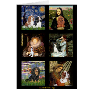 Cavalier Famous Art Masterpiece Composite (V) Greeting Card