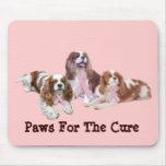 Cavalier King Charles Breast Cancer Mousepad