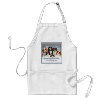 Cavalier King Charles Can't Have Just One gifts Adult Apron
