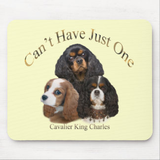 Cavalier King Charles Can't Have Just One Mouse Pad