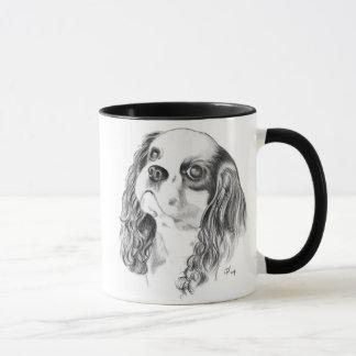 Cavalier King Charles Drawing Mug
