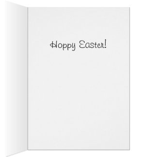 Cavalier King Charles Easter Card