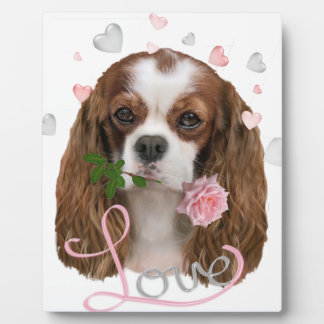 Cavalier King Charles Love Plaque