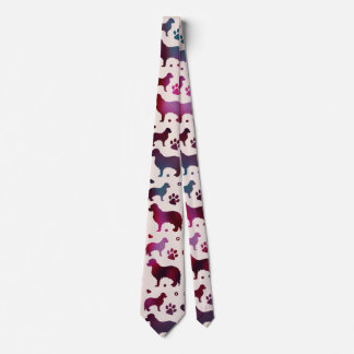 Cavalier King Charles pattern Neck Tie