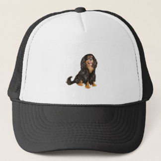 Cavalier King Charles (R) - Black and tan.png Trucker Hat