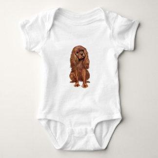 Cavalier King Charles - Ruby Baby Bodysuit