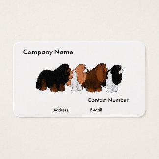 Cavalier King Charles Spaniel Art Business Card