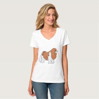 Cavalier King Charles Spaniel Art T-Shirt