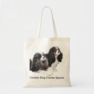 Cavalier King Charles Spaniel Canvas Bag