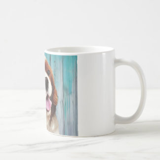 Cavalier King Charles Spaniel - Baxter Classic White Coffee Mug