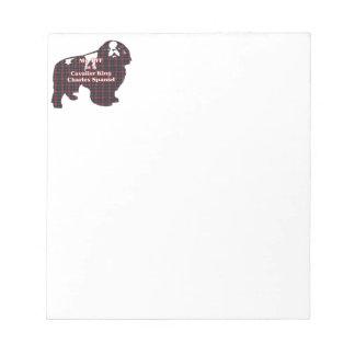 Cavalier King Charles Spaniel BFF Notepad