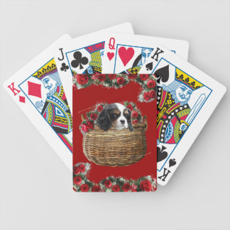 Cavalier King Charles Spaniel Bicycle Playing Cards