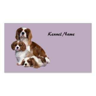 Cavalier King Charles Spaniel Breeder Business Car Double-Sided Standard Business Cards (Pack Of 100)