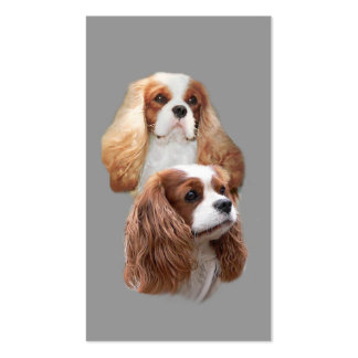 Cavalier King Charles Spaniel Breeder BusinessCard Double-Sided Standard Business Cards (Pack Of 100)