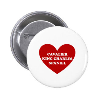 Cavalier King Charles Spaniel 2 Inch Round Button