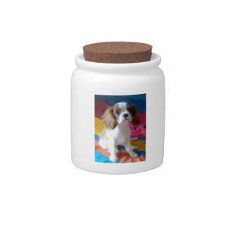 Cavalier King Charles Spaniel Candy Jar