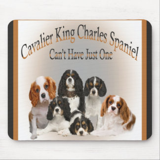 Cavalier King Charles Spaniel Can't Have Just One Mouse Pad