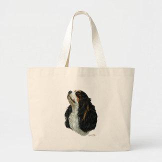 Cavalier King Charles Spaniel Canvas Bags