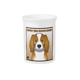 Cavalier King Charles Spaniel Cartoon Pitchers