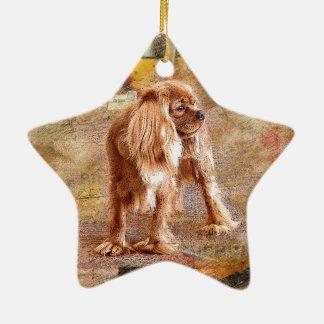 Cavalier King Charles Spaniel Ceramic Ornament