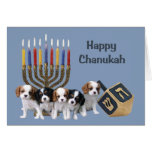 Cavalier King Charles Spaniel Chanukah Card Menora<br><div class='desc'>Remembering family and friends during the Chanukah season is a wonderful way to keep in touch with the people you love and care about. I created these dog Chanukah cards with love and care and I am sure anyone who loves dogs will be delighted to receive them. You do have...</div>