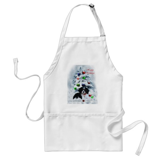Cavalier King Charles Spaniel  Christmas Gifts Adult Apron