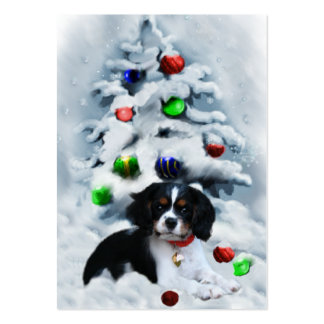Cavalier King Charles Spaniel  Christmas Gifts Large Business Cards (Pack Of 100)