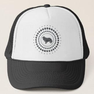 Cavalier King Charles Spaniel Chrome Studs Trucker Hat