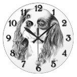 Cavalier King Charles Spaniel Clocks
